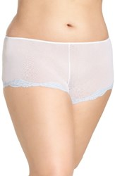 Only Hearts Club Plus Size Women's Tulle Boyshorts