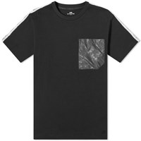 Coach Horse And Carriage Tape Pocket Tee Black
