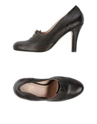 Nora Lace Up Shoes Brown