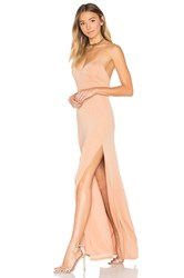 Nbd X Revolve In The Deep Maxi Dress Tan
