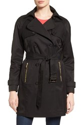 Michael Michael Kors Women's Belted Double Breasted Trench Coat