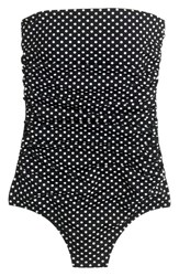J.Crew Women's Polka Dot One Piece Swimsuit