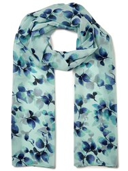 Eastex Watercolour Sprig Scarf