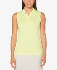 Callaway Sleeveless Golf Polo Sharp Green
