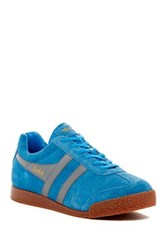 Gola Harrier Suede Sneaker Blue