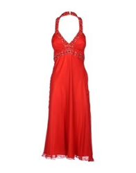 Gipsy 3 4 Length Dresses Red