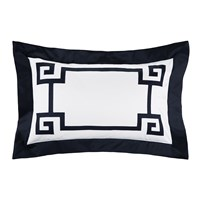 Gianfranco Ferre Greek Key Pillowcases Set Of 2 Blue