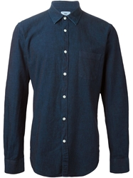 Hope For Men 'Ned Pocket' Shirt Blue