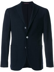 The Gigi Classic Long Sleeved Blazer Blue