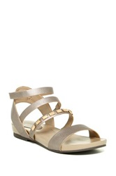 Easy Spirit Escressia Studded Sandal Metallic