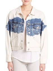 Mcguire Barthelemy Bleached Denim Jacket Sweet Things Are Made Of These