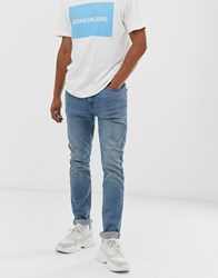 Calvin Klein Jeans Skinny In Light Wash Blue