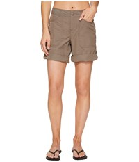 The North Face Horizon 2.0 Roll Up Shorts Falcon Brown Heather Women's Shorts