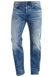 G Star Gstar 3301 Loose Relaxed Fit Jeans Destroyed Denim