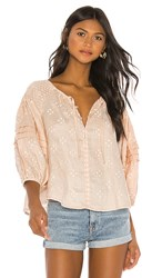 Innika Choo Oliver Daily Top In Cream. Biscuit