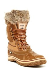 Pajar Tyrol Faux Fur Boot Brown