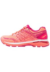 Asics Gt2000 5 Stabilty Running Shoes Flash Coral Coral Pink Bright Rose