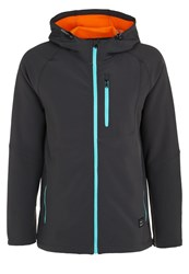 O'neill Exile Soft Shell Jacket Granite Grey
