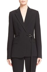 Women's Michael Kors Wool Serge Belted Wrap Jacket
