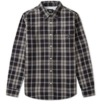 Stussy Penn Plaid Shirt Black