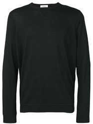Laneus Slim Jumper Black