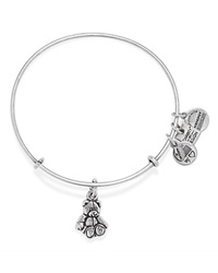 Alex And Ani Little Brown Bear Expandable Wire Bangle Charity By Design Collection Bloomingdale's Exclusive