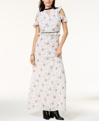 By Glamorous Cold Shoulder Maxi Dress Created For Macy's White
