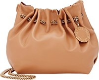Stella Mccartney Gathered Hobo Bag Colorless