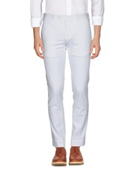 Santaniello And B. Casual Pants White