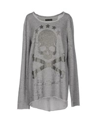 Bad Spirit Topwear Sweatshirts Women Grey