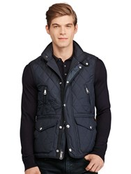 Polo Ralph Lauren Diamond Quilted Gilet College Navy