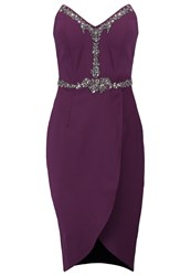 Little Mistress Shift Dress Bordeaux Dark Red