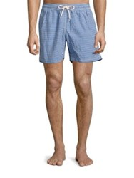 Barbour Milton Swim Shorts Blue