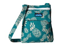 Kavu Keeper Pineapple Passion Cross Body Handbags Blue