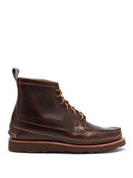 Yuketen Maine Guide Leather Boots Brown