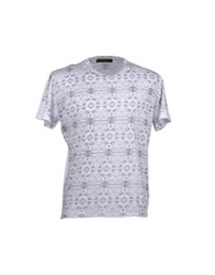 Vneck Short Sleeve T Shirts White