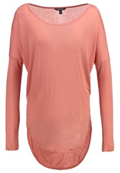 Banana Republic Long Sleeved Top Faded Coral Apricot
