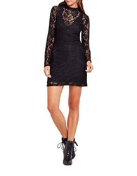 Bcbgeneration Lace Mockneck Dress