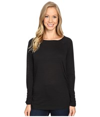 Carve Designs Cannon Long Sleeve Black Women's Clothing