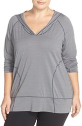 Plus Size Women's Zella 'New Beginnings' Jersey Hoodie