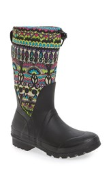 Sakroots Women's 'Mezzo' Waterproof Rain Boot Radiant One World