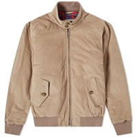 Baracuta G9 Corduroy Harrington Jacket Neutrals