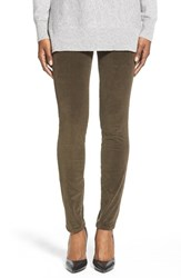 Women's Jag Jeans 'Nora' Pull On Stretch Skinny Corduroy Pants Green Pine