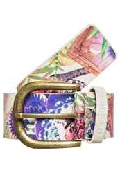 Desigual Cint Belt Blanco White