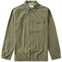Norse Projects Jens Crisp Cotton Shirt Green