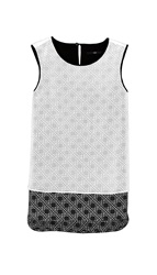Tibi Sequoia Layer Tank