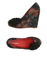 Desigual Pumps Dark Green