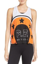 P.E Nation Women's On Your Marks Crop Tank