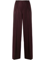 Vince Wide Leg Trousers Purple