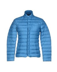 Geospirit Coats And Jackets Down Jackets Men Azure